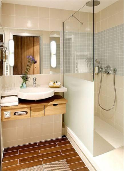 小戶型衛生間怎么才能裝出大空間
