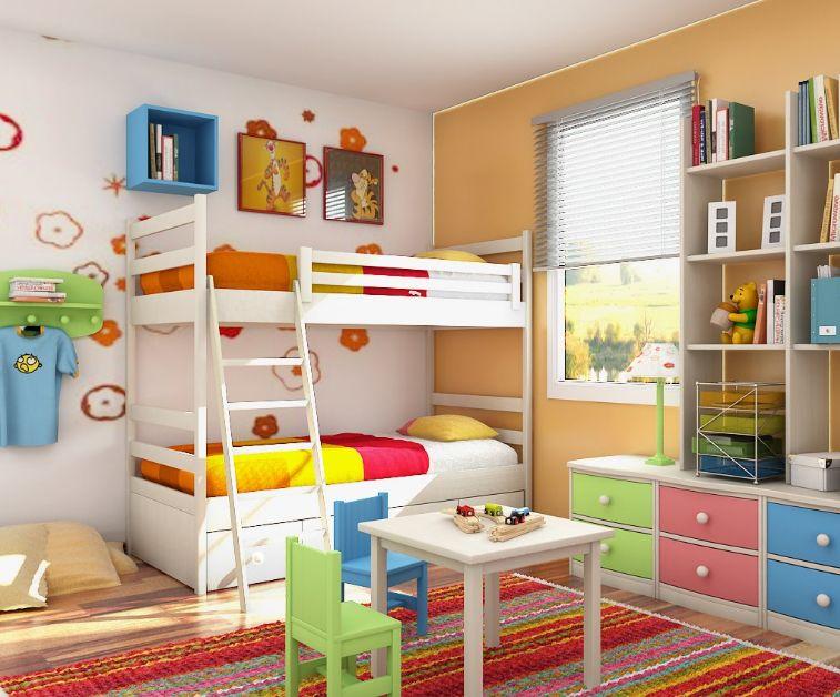 雙人兒童房怎么裝修設計好 需要注意的事項有哪些