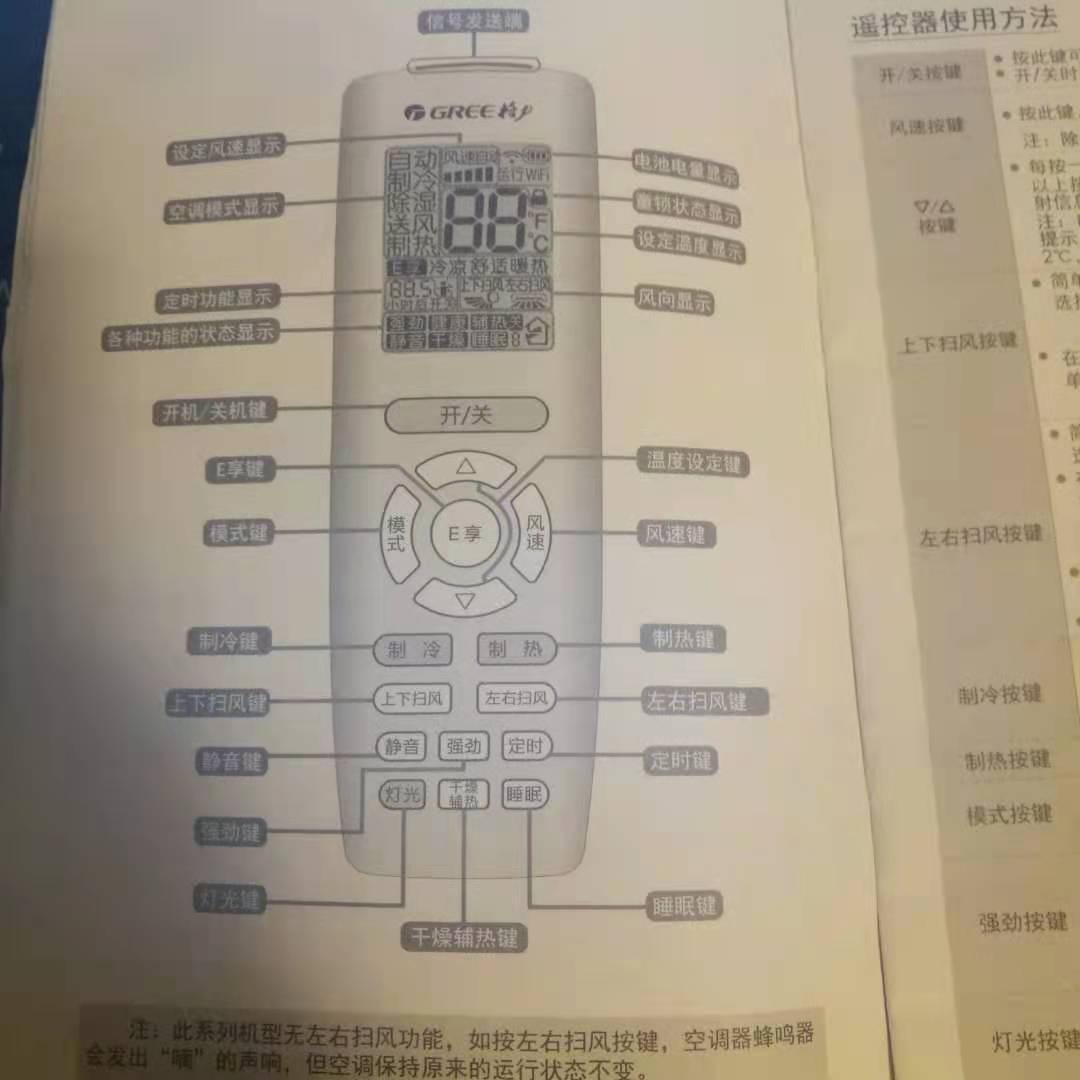空调遥控器图标说明 图文教您空调遥控器使用方法